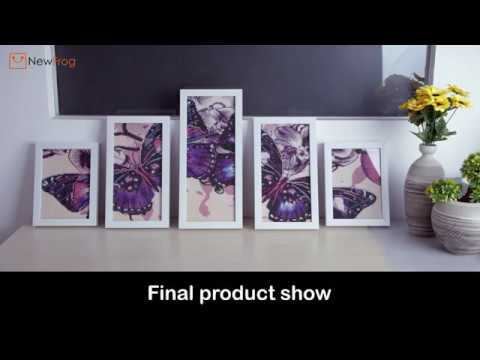 Butterfly 5D DIY Full Drill Diamond Painting 5-pictures Combination | NewFrog.com