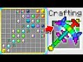 HOW TO CRAFT A $100,000 RAINBOW PICKAXE! *OVERPOWERED* (Minecraft 1.13 Crafting Recipe)