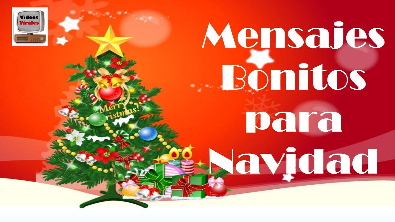 Mensajes bonitos para navidad y a o nuevo youtube - Mensajes para felicitar la navidad ...