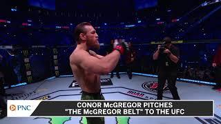 Conor McGregor Pitches Diamond-Laden \