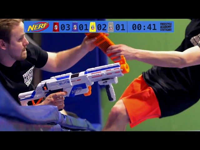 NERF Runde 2 mit Team Coaches // Freestyle Academy Stuttgart