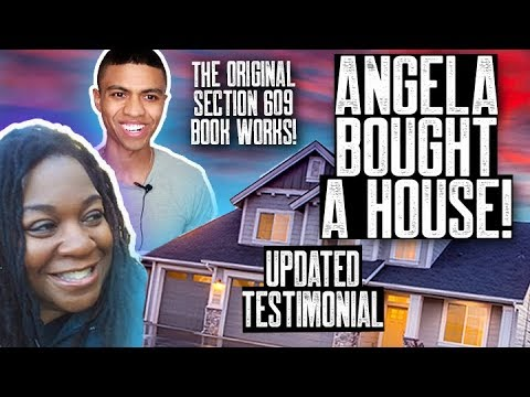 UPDATED CREDIT REPAIR TESTIMONIAL || MY LETTERS WORK! || ANGELA BOUGHT A HOUSE!!!|| FIX MY CREDIT