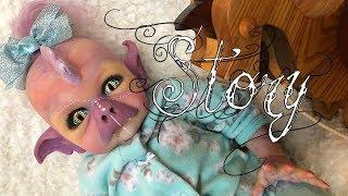 Meet STORY *Hybrid Human Dragon Reborn Doll* (name changed)