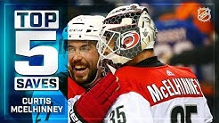 Top 5 Curtis McElhinney saves from 2018-19