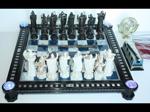 Harry Potter Wizard Chess Set by DeAgostini and Time Turner [HD]