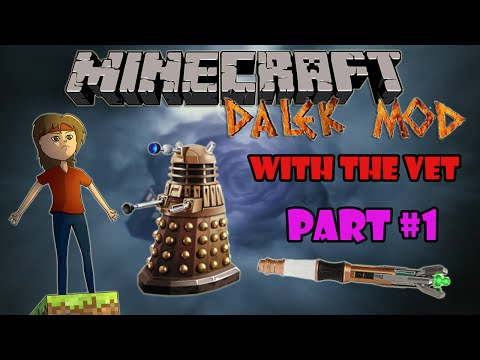 Minecraft Dalek Mod Survival Part 1: New World!