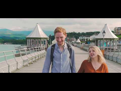 Taste some of the University city of Bangor's culture in this coastal video