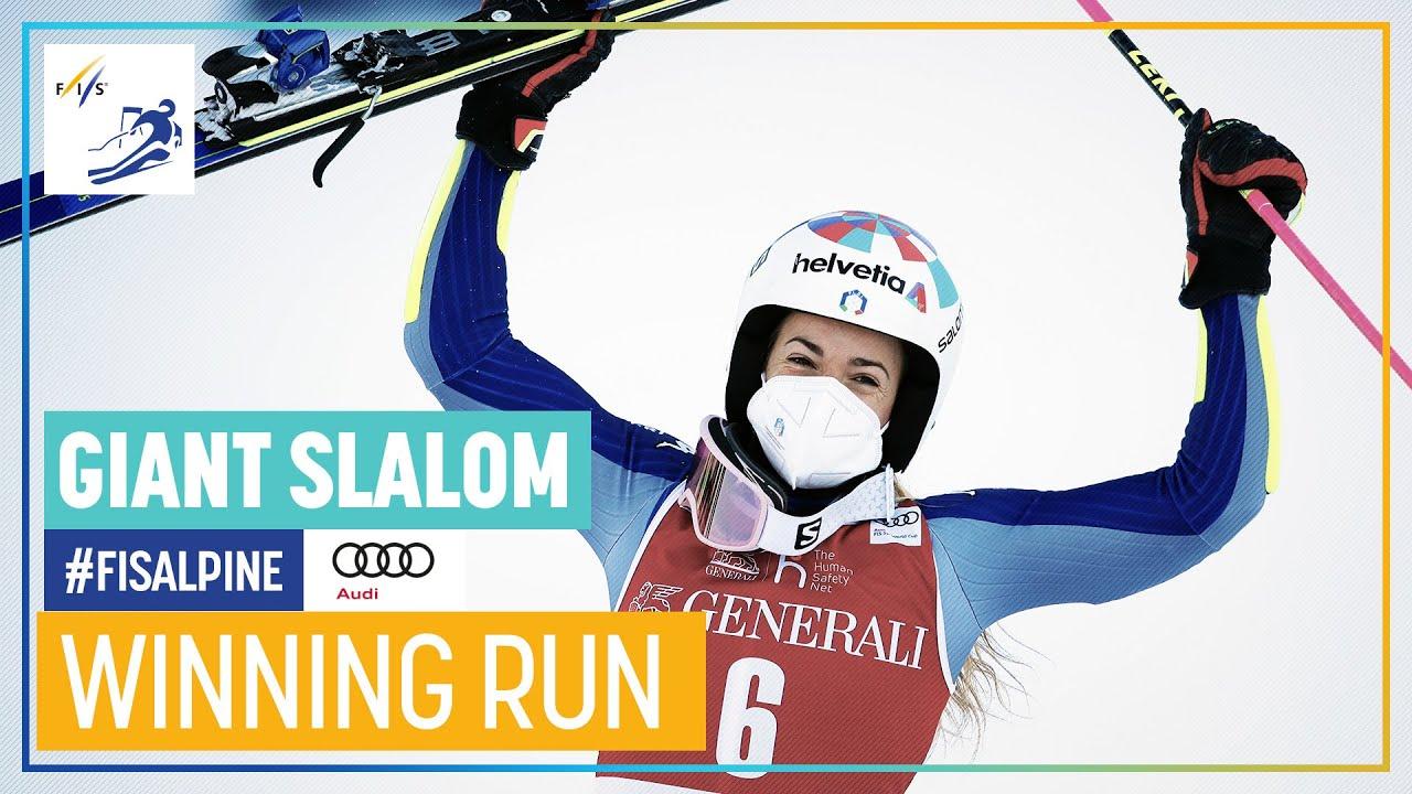 Marta Bassino Wins Kranjska Gora Giant Slalom