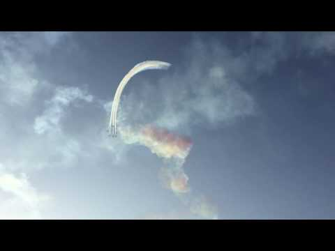 Air Show in Abu Dhabi 2016 - 45th UAE National Day