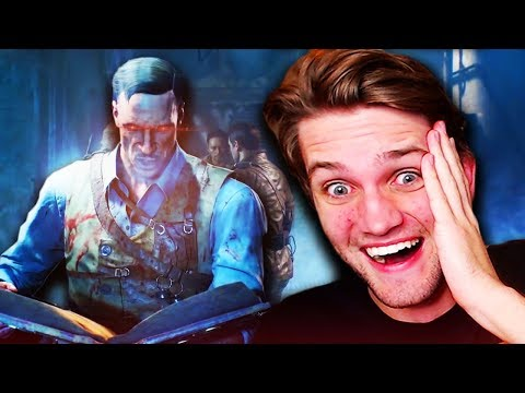 BLOOD OF THE DEAD INTRO REACTION!! Official Trailer! (Black Ops 4 Zombies Cutscene Reaction)