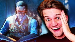 BLOOD OF THE DEAD INTRO REACTION!! Official Trailer! (Black Ops 4 Zombies Cutscene Reaction) thumbnail
