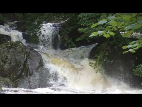 Rivers and Waterfalls in Wales, Breacon Beacond. Photography. Relaxation, Meditation.
