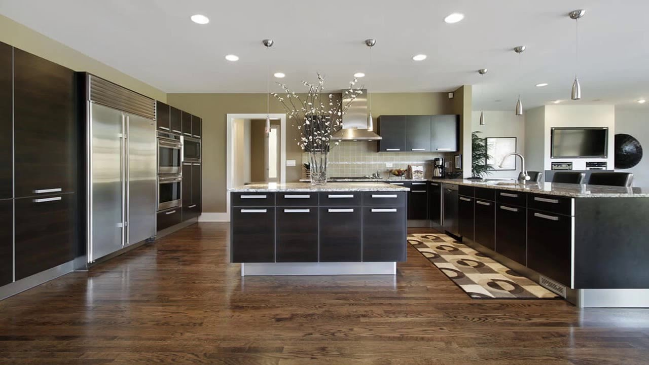 best kitchen flooring selection - youtube