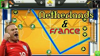 SKILLS⏩OF⏩FRANCE😇AMAZING NETHERLANDS GAME💯SOCCER STARS🐸SKILLS OF KING👑✨