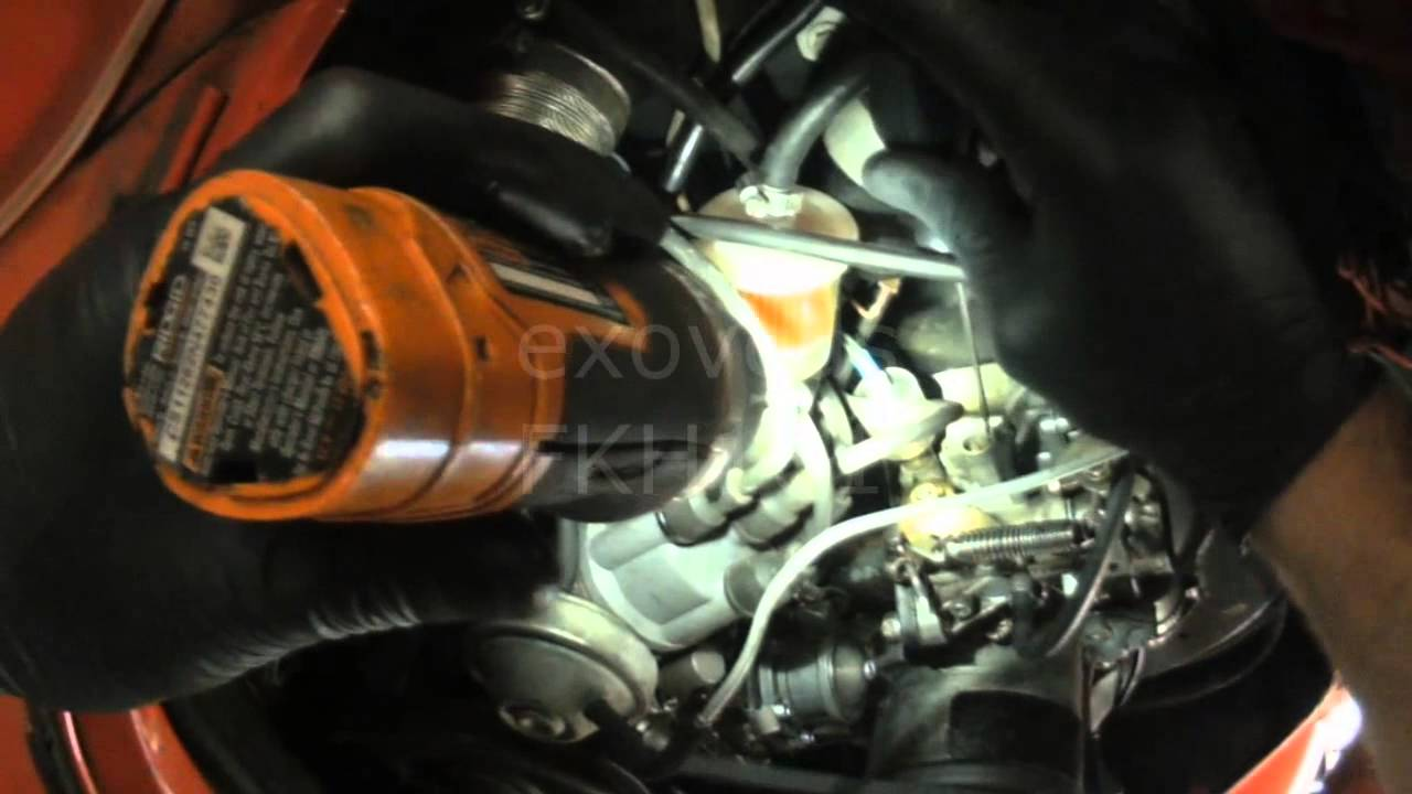 VW T1: Beetle Rough Running (Carb Check)