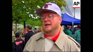 USA: 2ND VICTIM KILLED IN OREGON SCHOOL SHOOTING IS BURIED