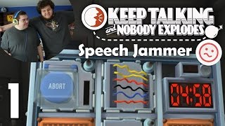 Keep Talking and Nobody Explodes (Speech Jammer)