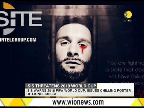 ISIS threatens 2018 world cup, issues chilling poster of Lionel Messi