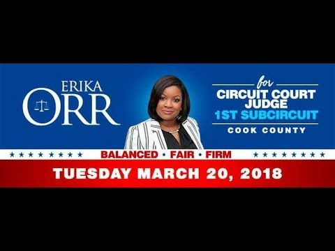 Russ Meek Speaks presents Erika Orr Candidate for 1st Sub Circuit Judge