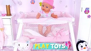 Baby Born Doll Birthday Party with PIKMI POPS Surprise Toys! 🎀
