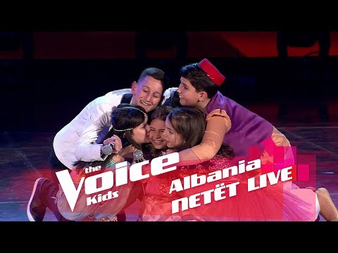Momenti i eliminimit skuadra Miriam | Netët Live | Nata 3 | The Voice Kids Albania 2018