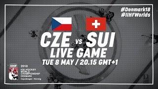 Czech Republic - Switzerland   Full Game   2018 IIHF Ice Hockey World Championship