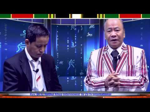 ZO TV INTERNATIONAL, Dr , Rev Taithul Lian Cin Khup Funeral, servic{ ki vui na}01/14/2017 ,