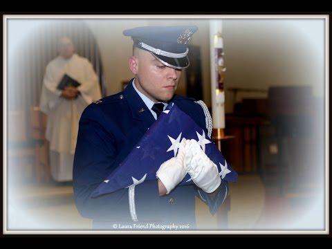 Military Funeral SMSgt PAUL MAHLER, US Air Force, 328th Squadron 17 December 2016