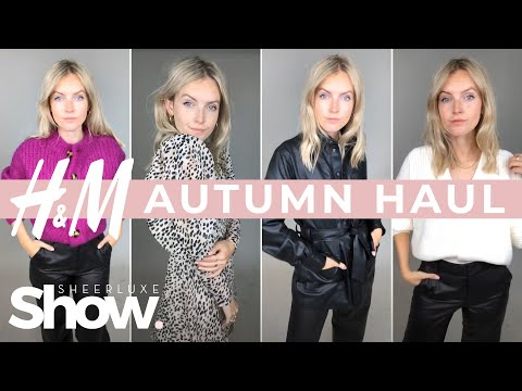 H&M Try On Haul 2019 Autumn | SheerLuxe Show