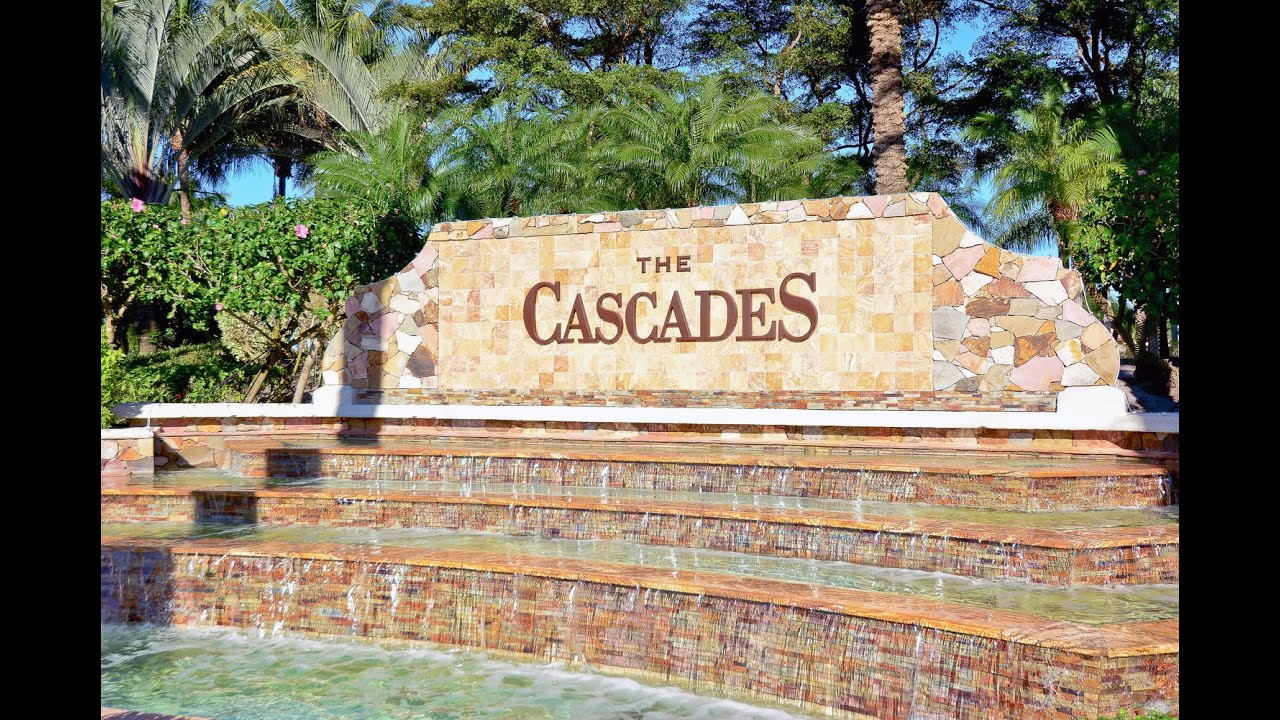 The Cascades Pre 2017 Boynton Beach Florida