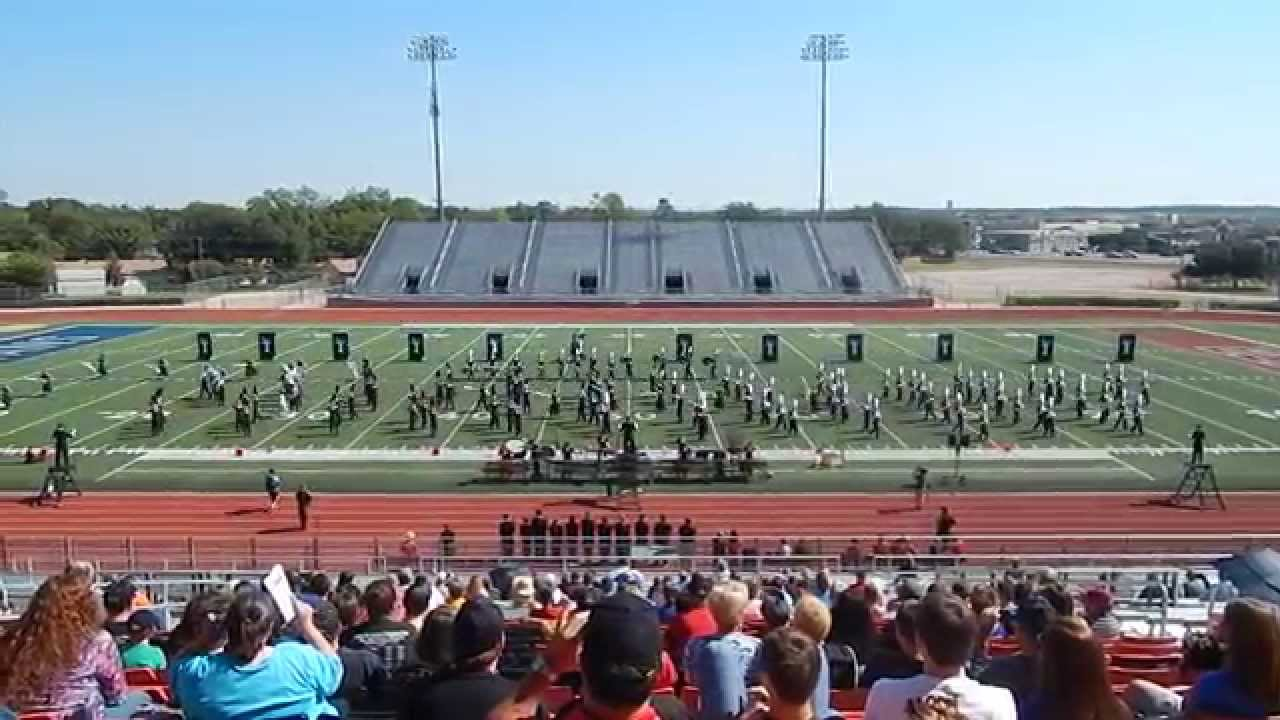 Burleson High School Marching Band UIL 2014 - YouTube