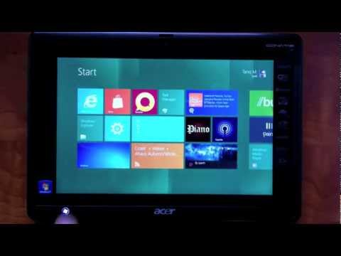 Windows 8 on Acer Iconia W500