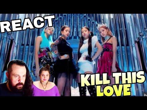 SUBS REAGINDO: BLACKPINK - KILL THIS LOVE MV REACT