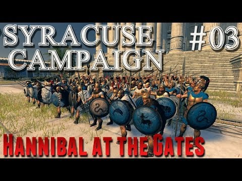 Rome 2 Total War HatG  Syracuse Campaign #3 - Destruction of Libya