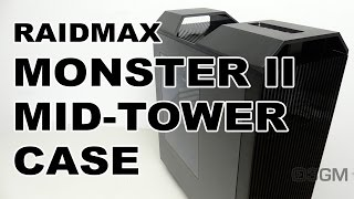 #1770 - Raidmax Monster II Mid-Tower Case Video Review