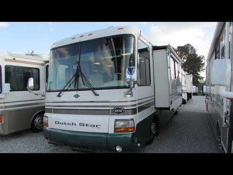 1999 Newmar Dutchstar 3865 Diesel Class A , Low Miles, 300 Cummins, Slide, High Quality, $39,900