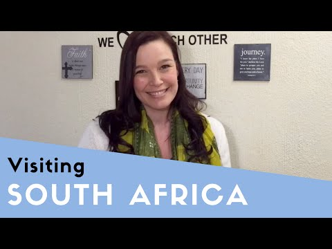 Visiting South Africa - English Listening Practice - Travel English
