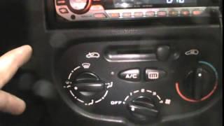 Dicas Peugeot 207 Modo stand Dimmer Painel zerar revisao acertando hora data programando  trava ou n
