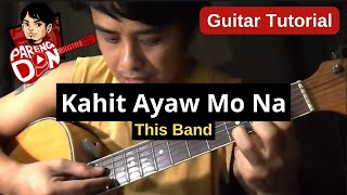 This Band Kahit Ayaw Mo Na OPM Chords guitar tutorial with plucking.mp3