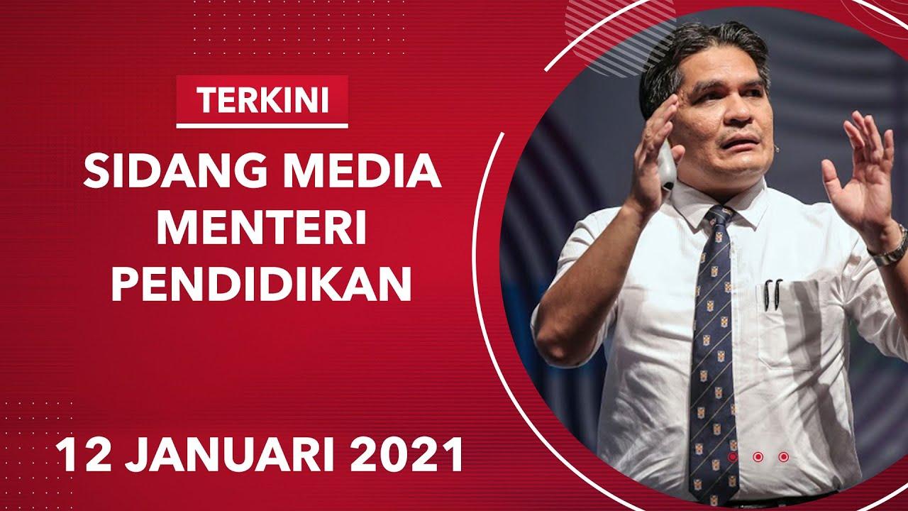 Terkini Sidang Media Menteri Kanan Pendidikan Youtube