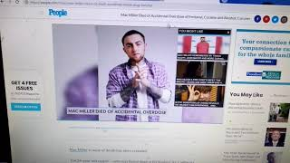 Mac Miller died from FENTANYL, COCAINE & alcohol Autopsy