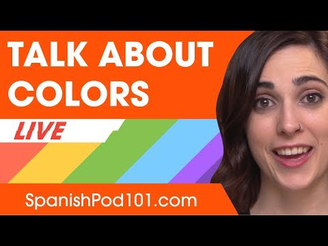 Talking About Colors in Spanish - Basic Spanish Phrases