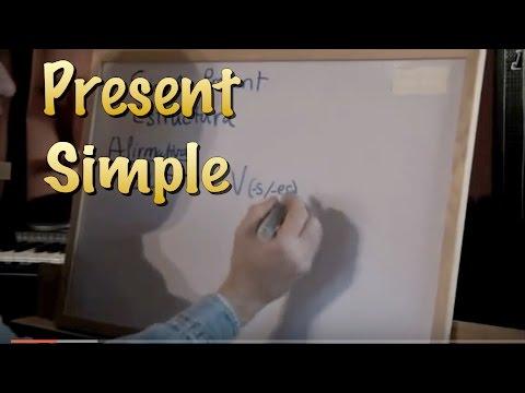 INGLÉS. 11- PRESENT SIMPLE. Inglés para hablantes de español. Tutorial