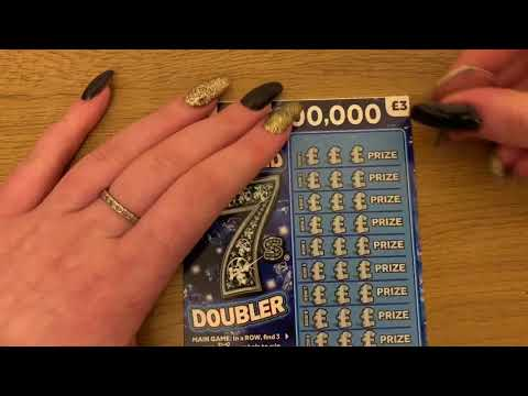 £3 Diamond 7 Scratch Cards, UK National Lottery, Multiple Wins And Big Profit 🤑