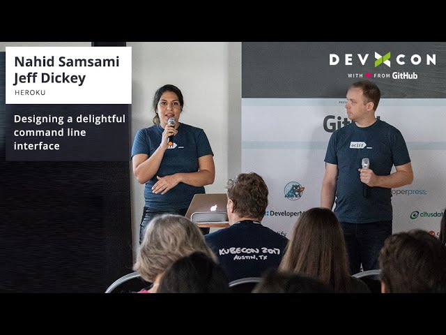 Designing a delightful command line interface - DevRel net
