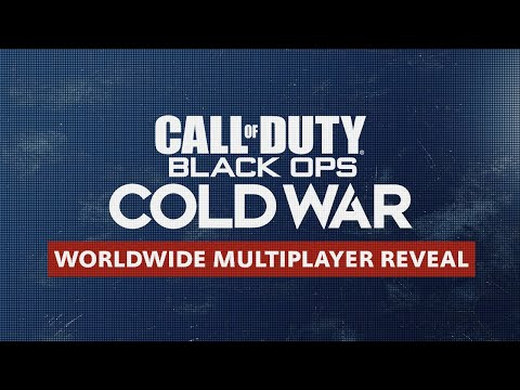 Call of Duty®: Black Ops Cold War Multiplayer Reveal