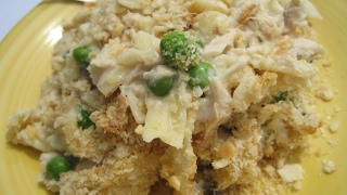 CLASSIC TUNA CASSEROLE - How to make TUNA CASSEROLE Recipe