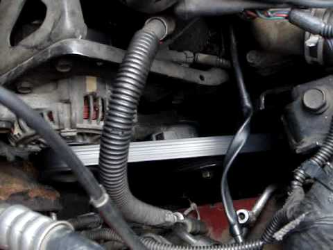 2000 Dodge Caravan Belt Diagram Gm Factory Stereo Wiring How To Change A On 1996 1997 1998 1999 Mpg Youtube