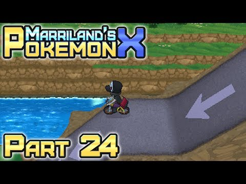 how to get to cyllage city in pokemon x