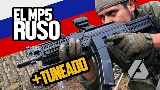 EL MP5 Ruso + Tuneado del Mercado | ZP1901 Vityaz by LCT - Airsoft Review